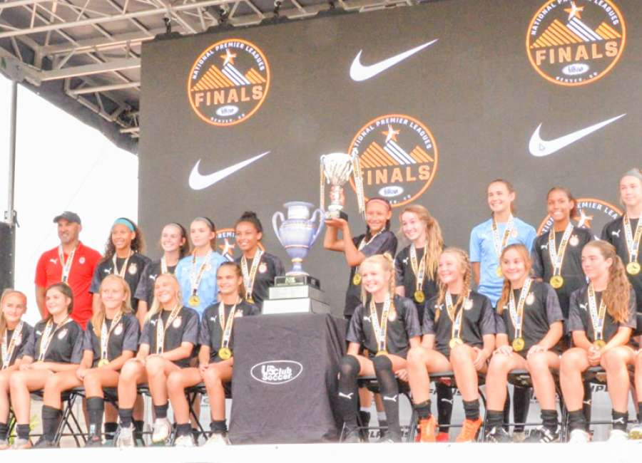 Local soccer team wins national title