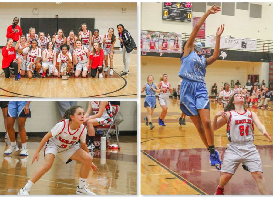 Madras Lady Eagles win Middle School Championship