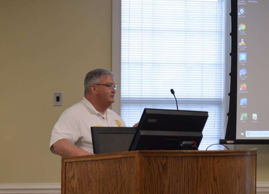 McKenzie honored for service as warden