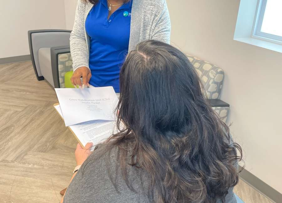 Mental health specialists using personal experience to assist with care