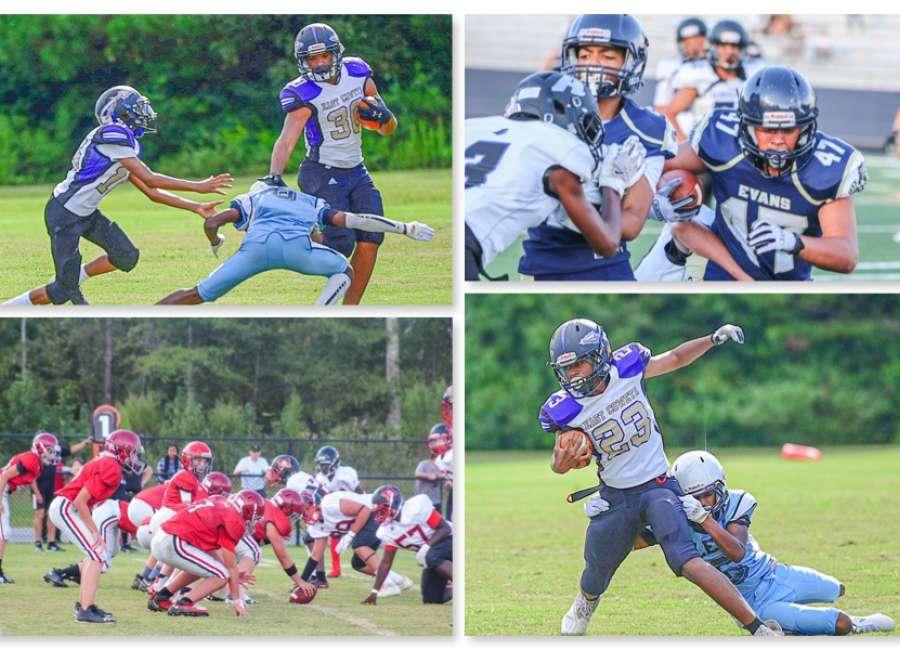 Middle School football kicks off