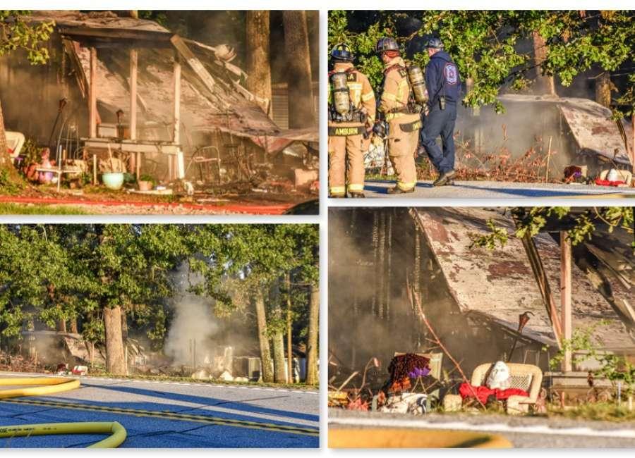 Mobile home fire under investigation