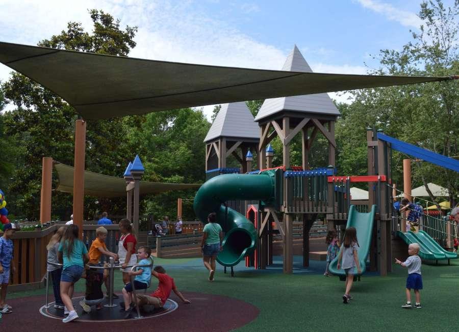 New Kids Castle Park opens
