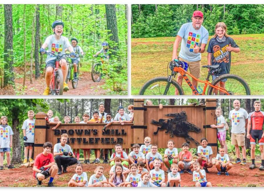New riders hit the trails for Mountain Bike Camp