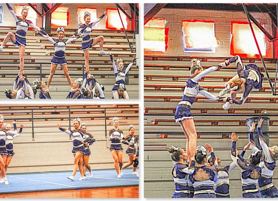 Newnan cheer competes in first-ever virtual competition