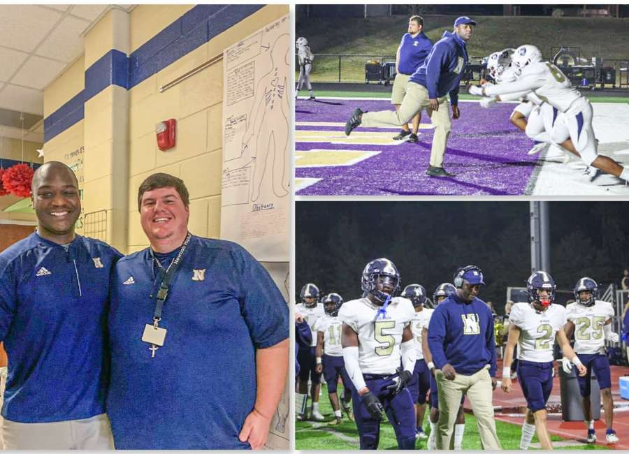 Newnan coach inspires others to 'Mann' up