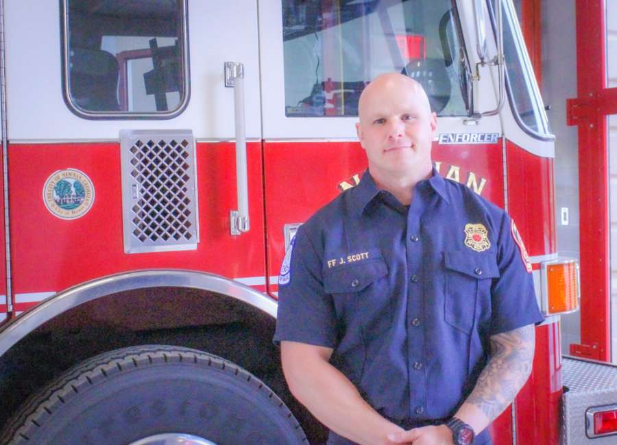 Newnan firefighter thankful for community support