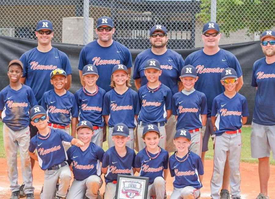 Newnan NYAA All-Star 8-U team wins USSSA State Championship