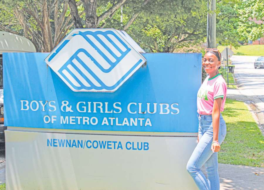 Newnan resident encourages higher education at Boys and Girls Club