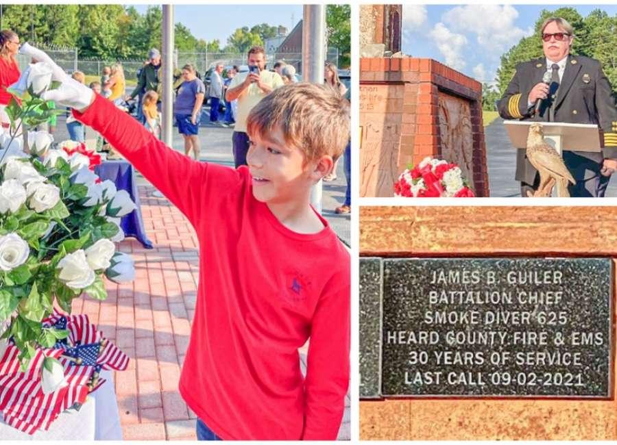 Newnan resident honored at memorial dedication on 9/11