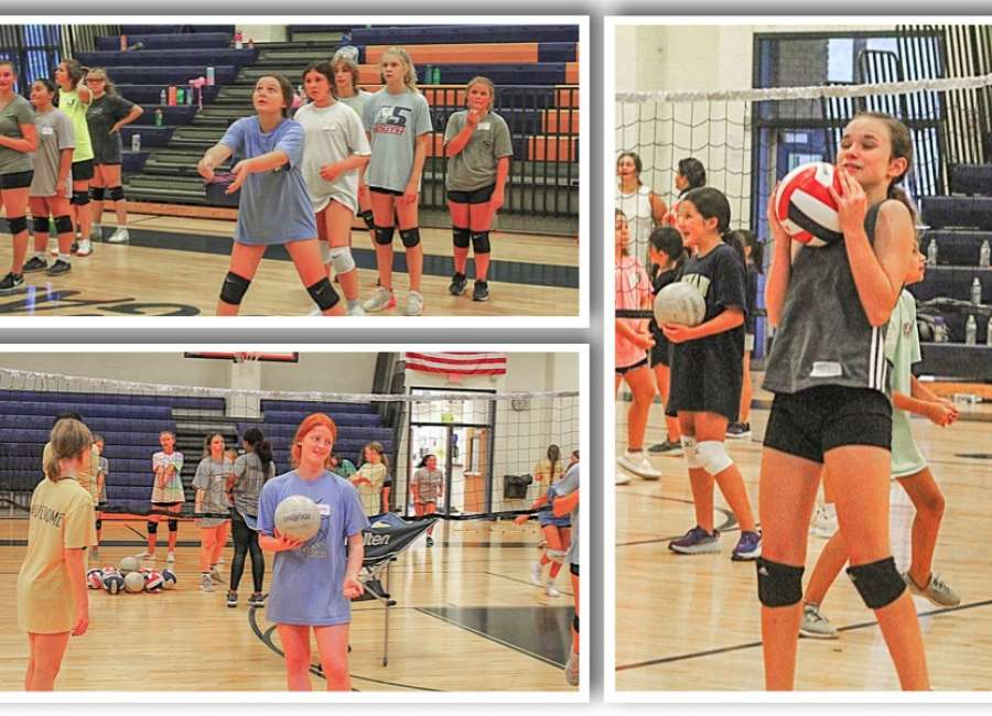 Newnan Volleyball hosts their youth camp