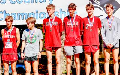 Northgate boys cross-country qualifies for state