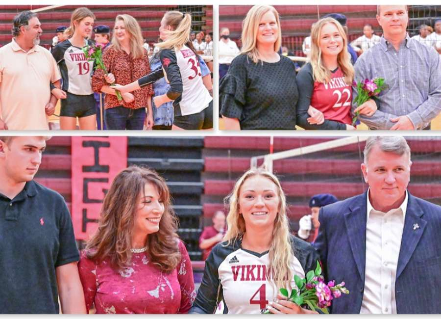 Northgate volleyball celebrates seniors