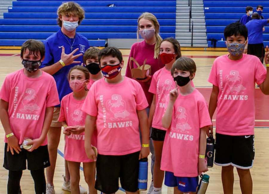 Pink Team takes title at Heritage School basketball championship