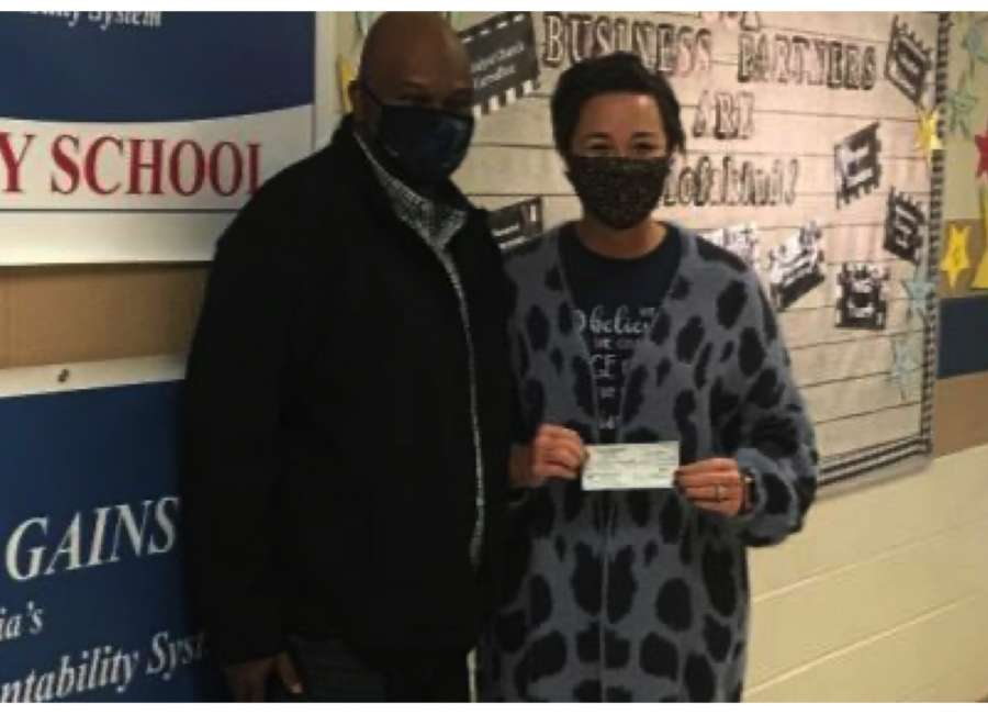 Plant Yates employees donate $10k to local elementary schools, community nonprofits