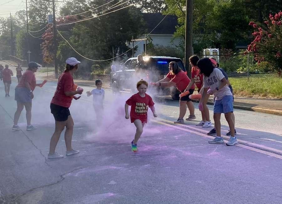 Rainbow Run raises money for school supplies