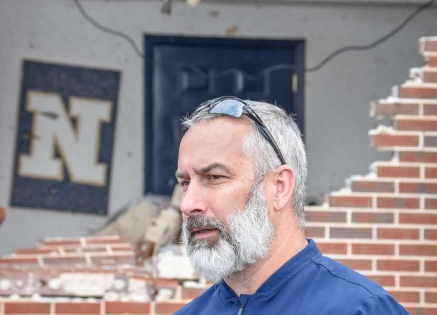 Rallying the community, Coach Walker talks of rebuilding