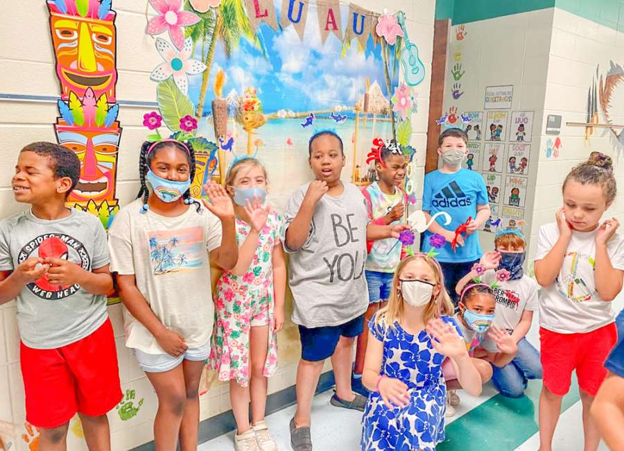 Ruth Hill students fund party for special needs class