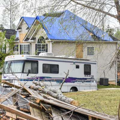 RVs okayed for temporary housing