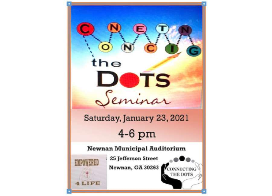 Second Connecting the Dots seminar Saturday