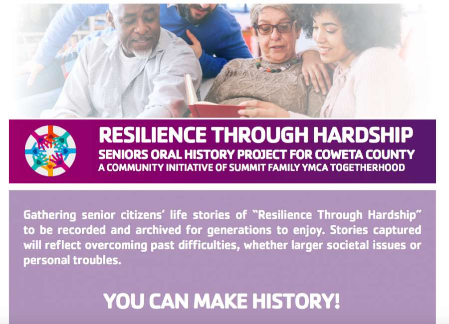 Senior citizens sought for oral history project