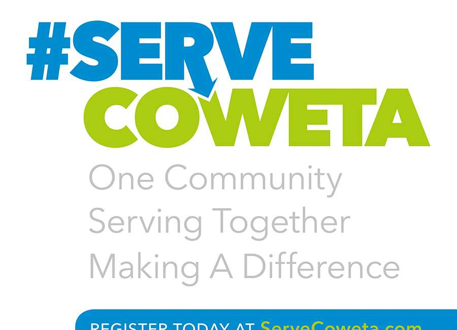 #ServeCoweta is Saturday – and for the foreseeable future