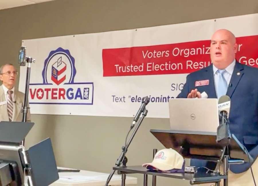 Singleton, voting organization file suit over voting machines