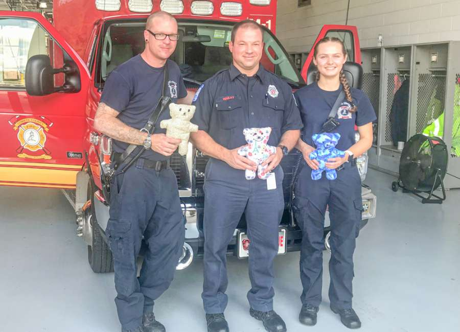 'Special Love Bears' for children donated to CCFR