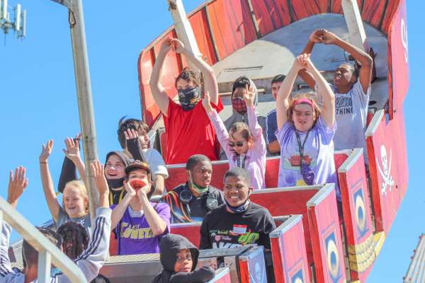 Special needs students, adults enjoy a day at the fair - and what a day!