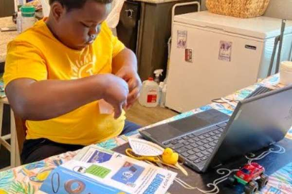 Students learn STEM principles at Camp Invention Connect