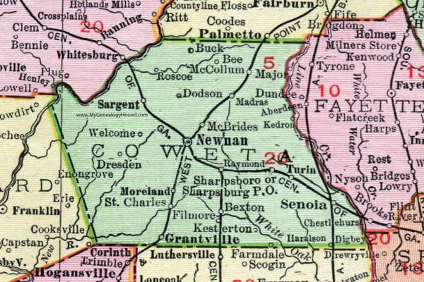 The State of Coweta County 2021