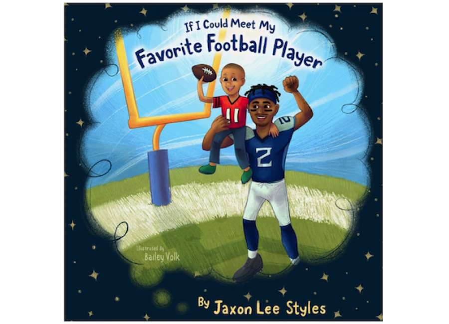 Third grader publishes book about favorite football player