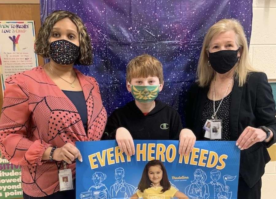 Thomas Crossroads raises $2,416 for LLS Hero Squad program