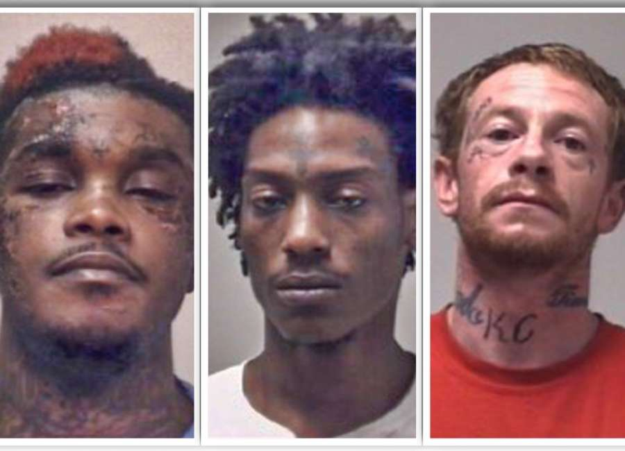 Three inmates charged in botched jail escape