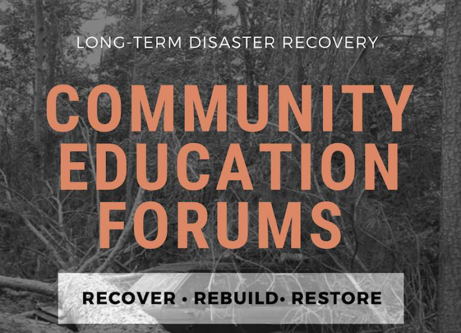 Tornado recovery education forums start this week