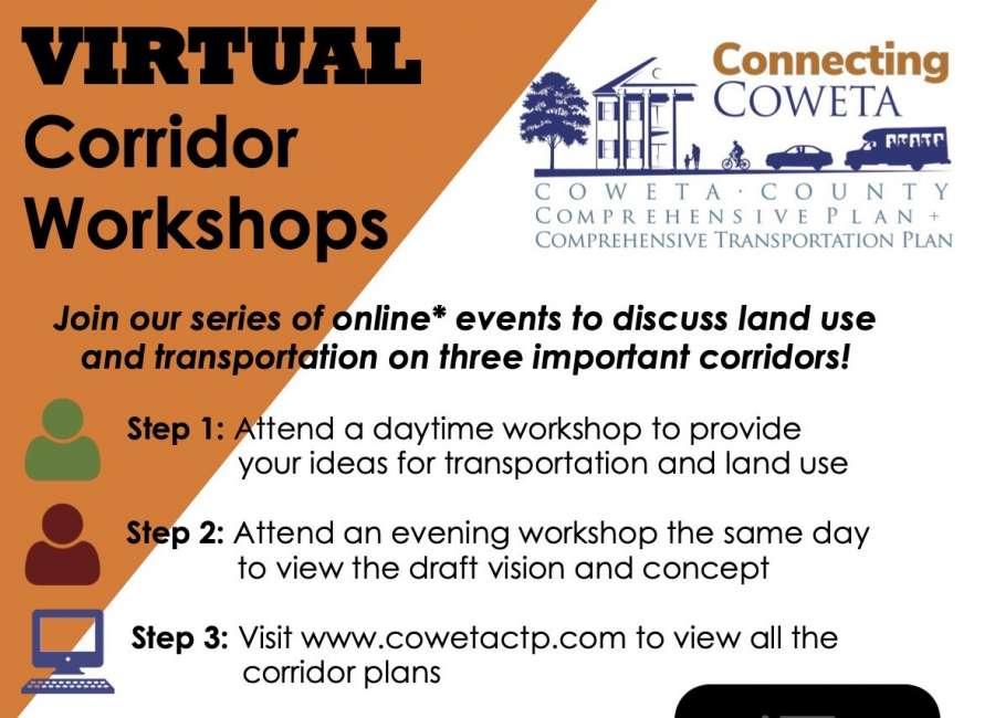 Transportation corridor workshops coming up