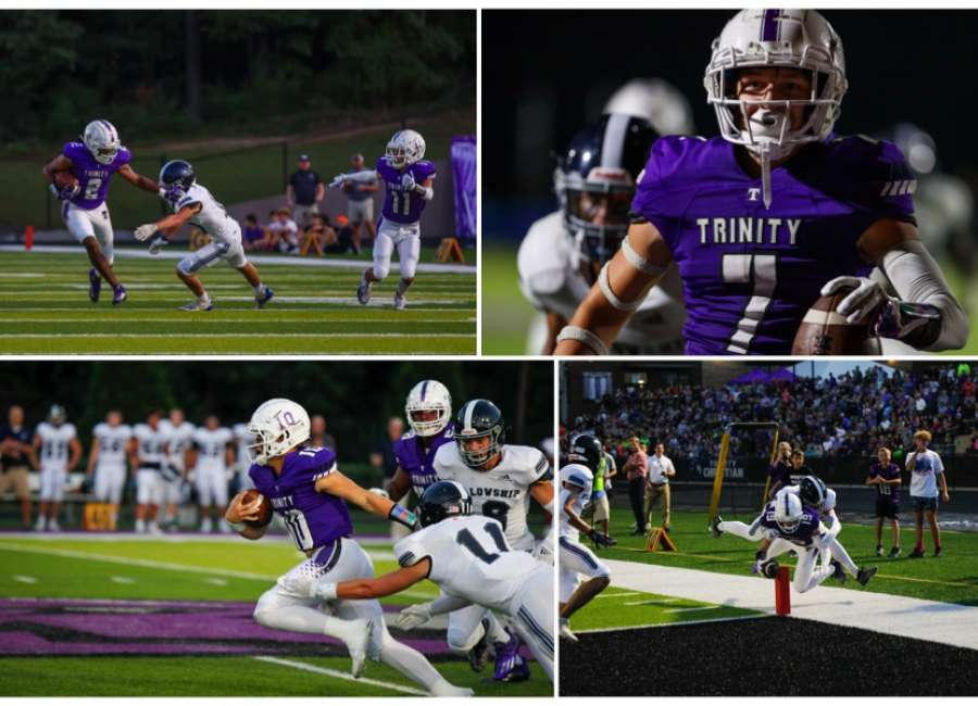 Trinity unstoppable, defeat second ranked Fellowship  56-20