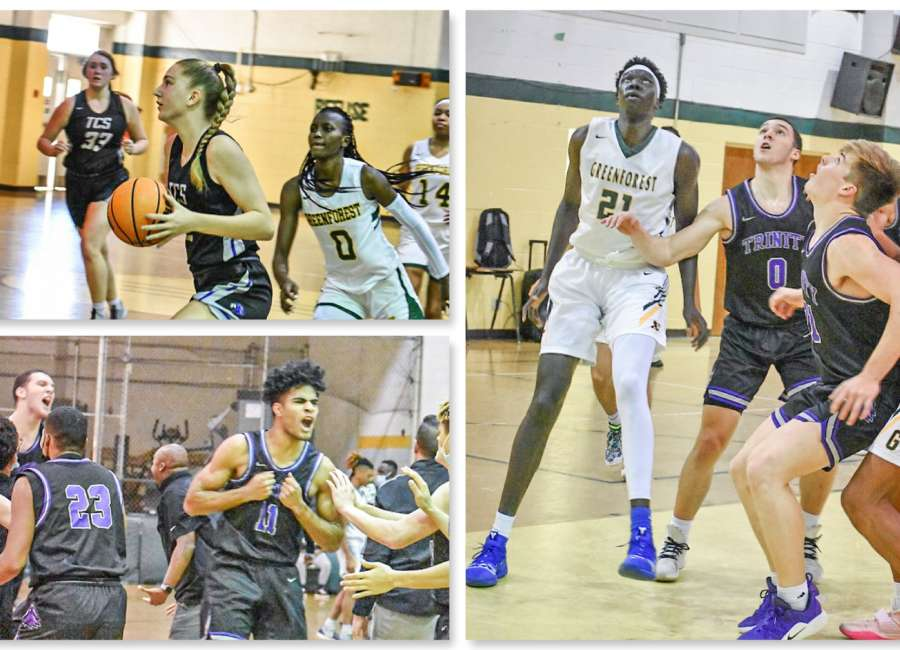 Trinity's tall-order triumph over Greenforest