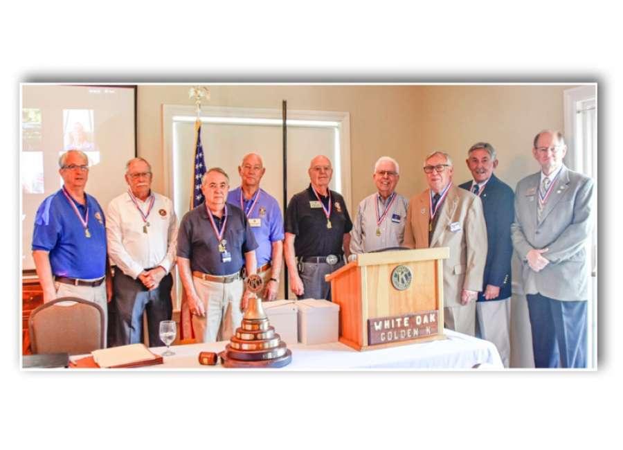 WOGK members receive Leadership Medallion