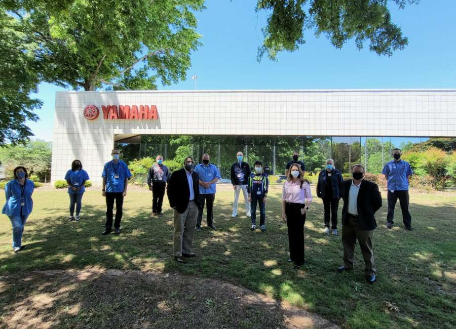 Yamaha donates $55,000 to tornado relief