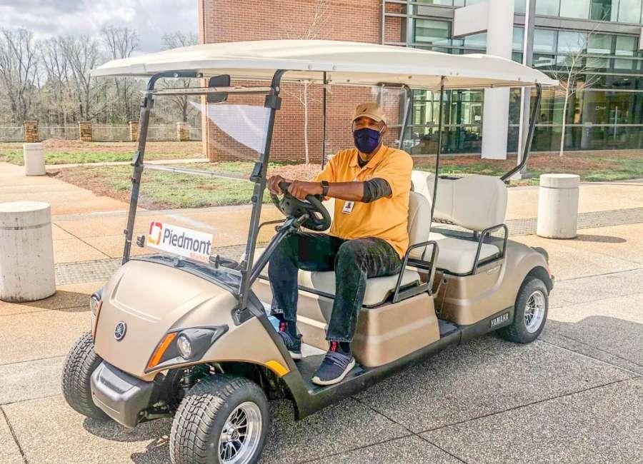 Yamaha donates new golf cart to help Piedmont Newnan patients