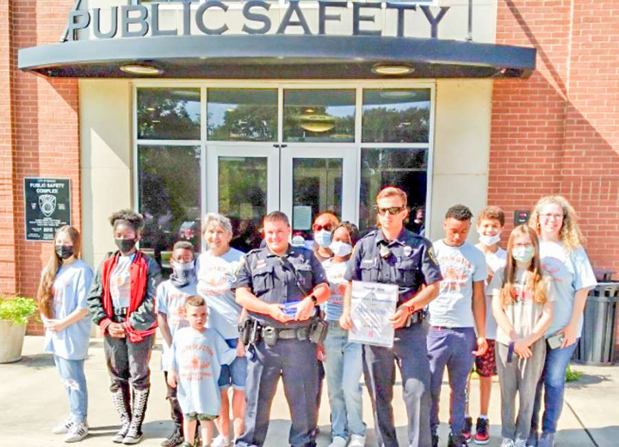Youth in Action honors first responders on 9/11