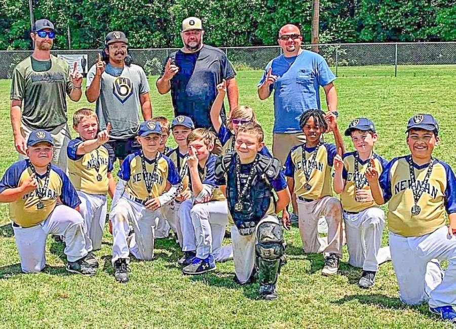 Youth spotlight: Newnan Brewers win postseason tournament